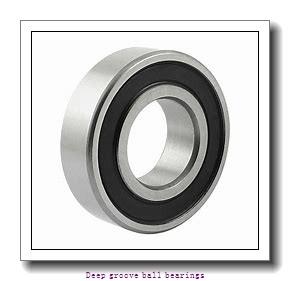 60 mm x 110 mm x 28 mm  skf 62212-2RS1 Deep groove ball bearings