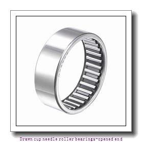NTN HMK2515C Drawn cup needle roller bearings-opened end