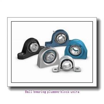 1 Inch | 25.4 Millimeter x 1.22 Inch | 30.988 Millimeter x 1.313 Inch | 33.35 Millimeter  skf P2BL 100-FM Ballbearing plummer block units