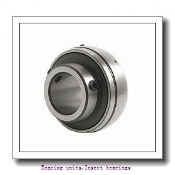 25 mm x 52 mm x 21.4 mm  SNR ES.205.G2 Bearing units,Insert bearings