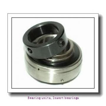 25 mm x 52 mm x 34.8 mm  SNR EX205G2T20 Bearing units,Insert bearings