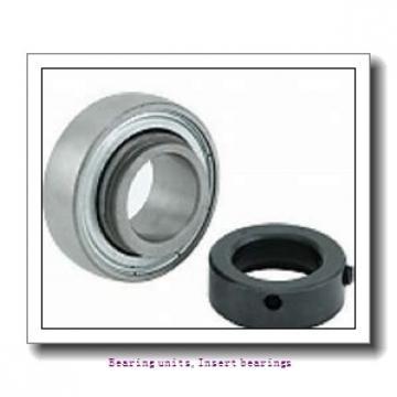 12 mm x 47 mm x 34 mm  SNR EX201G2L3 Bearing units,Insert bearings
