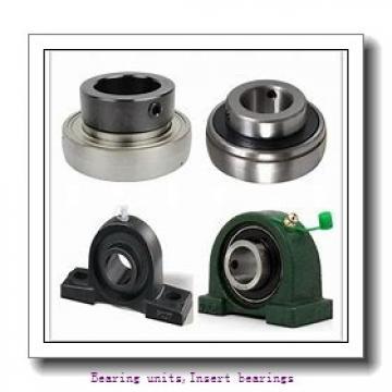 12 mm x 47 mm x 43,5 mm  SNR EX201G2 Bearing units,Insert bearings