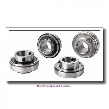 28.58 mm x 62 mm x 36.4 mm  SNR EX206-18G2L4 Bearing units,Insert bearings