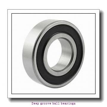 100 mm x 150 mm x 24 mm  skf 6020-RS1 Deep groove ball bearings