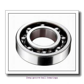 80 mm x 170 mm x 39 mm  skf 6316 Deep groove ball bearings