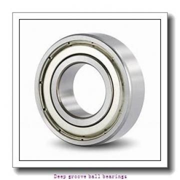 2 mm x 5 mm x 1,5 mm  skf W 618/2 R Deep groove ball bearings