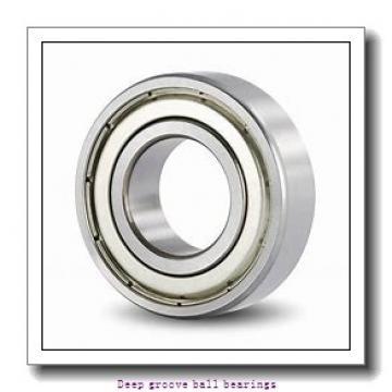 85 mm x 130 mm x 22 mm  skf 6017-2Z Deep groove ball bearings