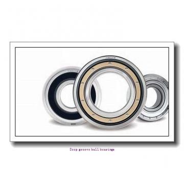 35 mm x 72 mm x 17 mm  skf 6207-2RS1 Deep groove ball bearings