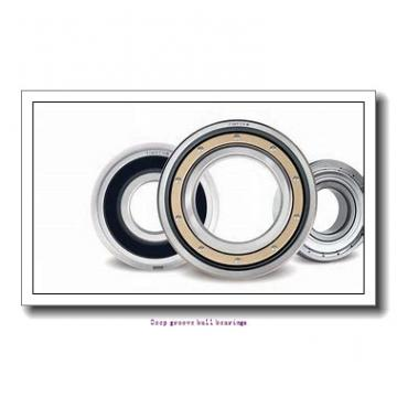 80 mm x 100 mm x 10 mm  skf W 61816-2RS1 Deep groove ball bearings