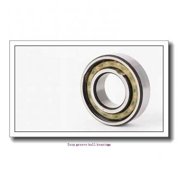 10 mm x 26 mm x 8 mm  skf W 6000 Deep groove ball bearings