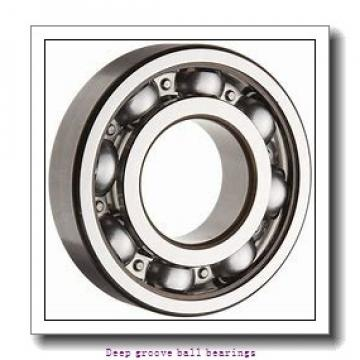 12 mm x 28 mm x 8 mm  skf W 6001 Deep groove ball bearings