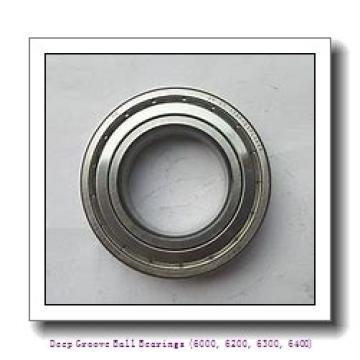 timken 6021-2RS Deep Groove Ball Bearings (6000, 6200, 6300, 6400)