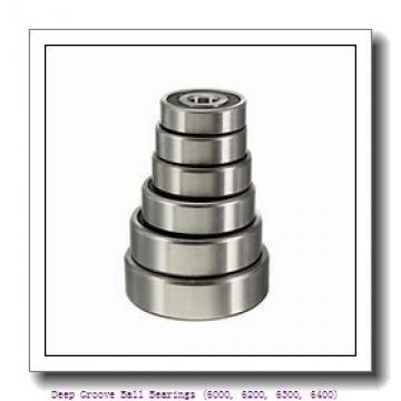 timken 6206-2RZ Deep Groove Ball Bearings (6000, 6200, 6300, 6400)