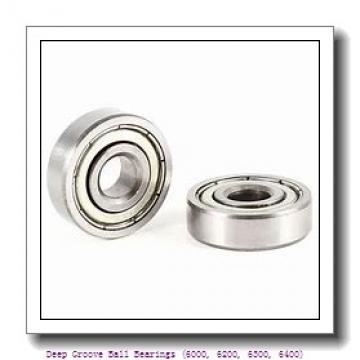 timken 6017-2RZ Deep Groove Ball Bearings (6000, 6200, 6300, 6400)