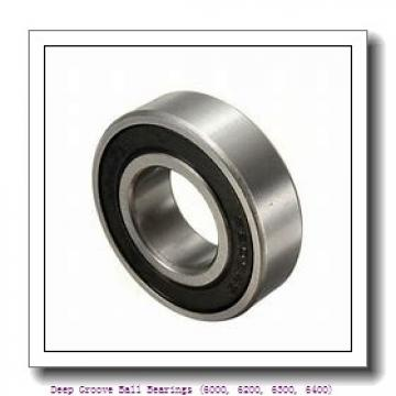 timken 6317-2RZ Deep Groove Ball Bearings (6000, 6200, 6300, 6400)