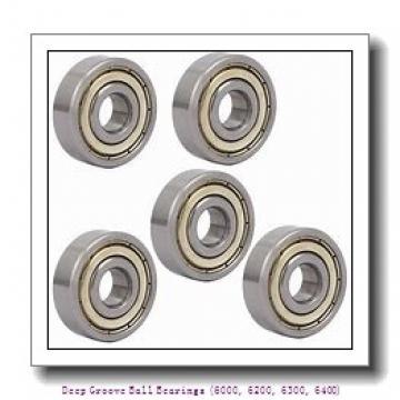 timken 6006-2RS Deep Groove Ball Bearings (6000, 6200, 6300, 6400)