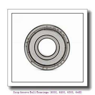 timken 6014-2RS Deep Groove Ball Bearings (6000, 6200, 6300, 6400)