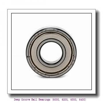 timken 6206-2RS Deep Groove Ball Bearings (6000, 6200, 6300, 6400)