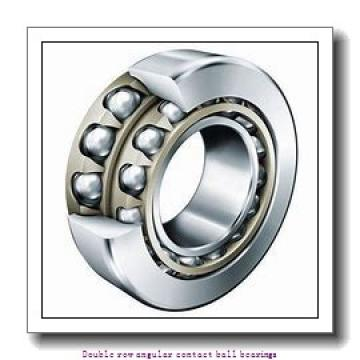 70 mm x 125 mm x 39.7 mm  SNR 3214AC3 Double row angular contact ball bearings