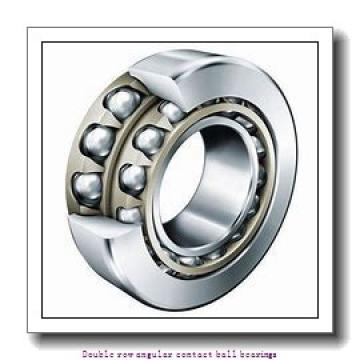 90,000 mm x 190,000 mm x 73,000 mm  SNR 3318 Double row angular contact ball bearings