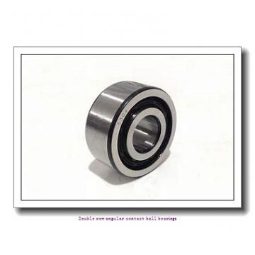 60,000 mm x 110,000 mm x 36,500 mm  SNR 5212EEG15 Double row angular contact ball bearings