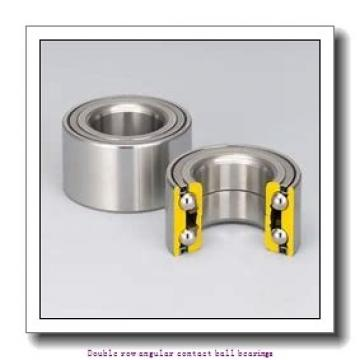 35 mm x 72 mm x 27 mm  SNR 5207ZZG15C3D159 Double row angular contact ball bearings