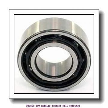 90,000 mm x 160,000 mm x 52,400 mm  SNR 3218 Double row angular contact ball bearings