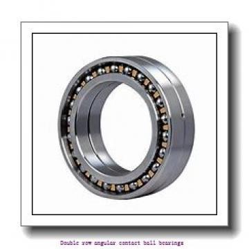 20 mm x 52 mm x 22.2 mm  skf 3304 A-2RS1TN9/MT33 Double row angular contact ball bearings