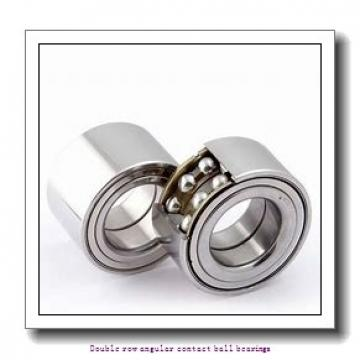 30 mm x 62 mm x 23.8 mm  SNR 3206AC3 Double row angular contact ball bearings
