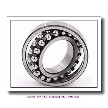 35 mm x 72 mm x 17 mm  NTN 1207S Double row self aligning ball bearings