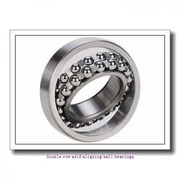 35 mm x 72 mm x 17 mm  NTN 1207SK Double row self aligning ball bearings