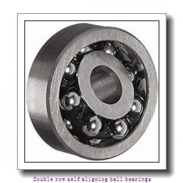 95 mm x 170 mm x 43 mm  NTN 2219SK Double row self aligning ball bearings
