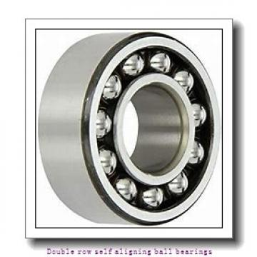 30 mm x 72 mm x 19 mm  NTN 1306S Double row self aligning ball bearings