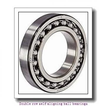 30 mm x 72 mm x 19 mm  NTN 1306S Double row self aligning ball bearings