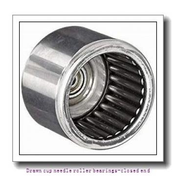 NTN BK1522ZWD Drawn cup needle roller bearings-closed end