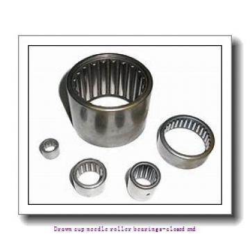 NTN BK1512 Drawn cup needle roller bearings-closed end