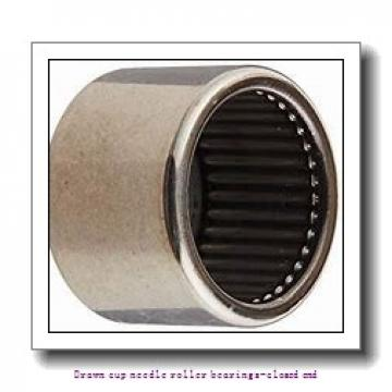 NTN BK1622ZWD Drawn cup needle roller bearings-closed end