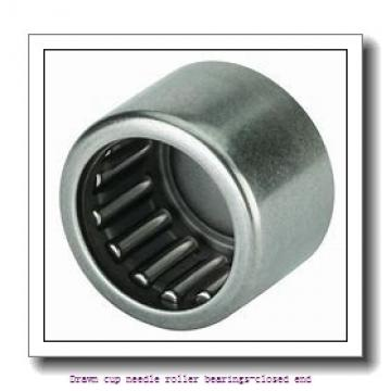 NTN BK0709 Drawn cup needle roller bearings-closed end