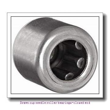NTN BK0509 Drawn cup needle roller bearings-closed end