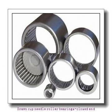 NTN BK3016 Drawn cup needle roller bearings-closed end