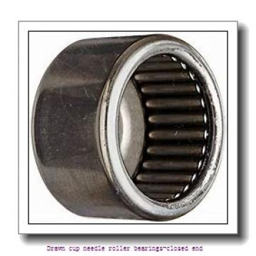 NTN BK0609T2 Drawn cup needle roller bearings-closed end