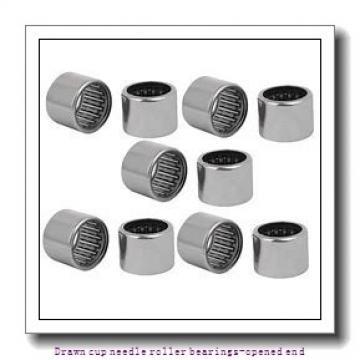 NTN HK0509 Drawn cup needle roller bearings-opened end
