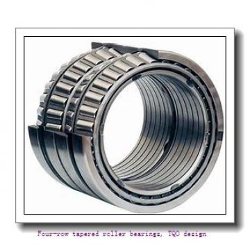 457.2 mm x 596.9 mm x 276.225 mm  skf 331169 E/C500 Four-row tapered roller bearings, TQO design