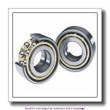 45 mm x 100 mm x 39.7 mm  skf 3309 A-2Z Double row angular contact ball bearings