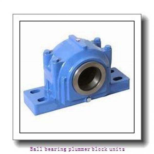 skf SYWK 1.3/8 YTA Ballbearing plummer block units #1 image