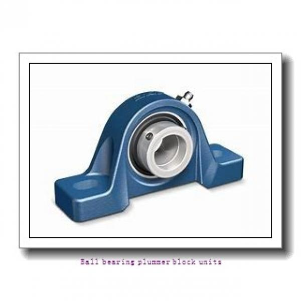 0.7500 in x 97 mm x 21 mm  skf P2B 012-FM Ballbearing plummer block units #1 image