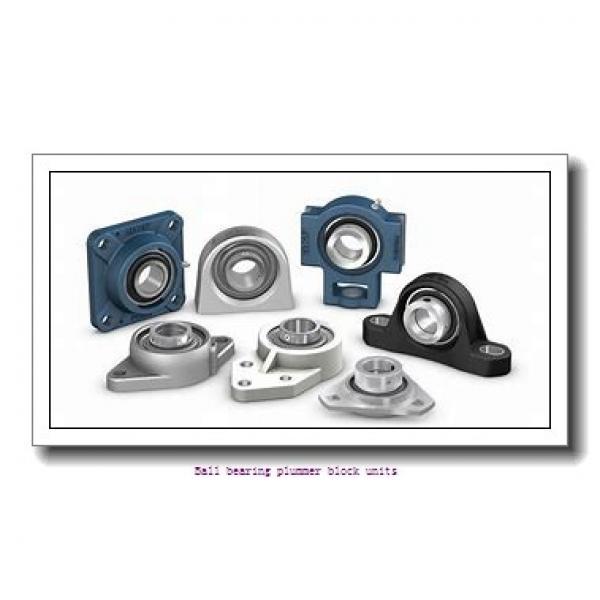 1.2500 in x 126 mm x 27 mm  skf P2B 104-FM Ballbearing plummer block units #1 image