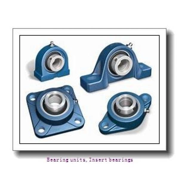 35 mm x 72 mm x 37.6 mm  SNR EX207AGR Bearing units,Insert bearings #1 image
