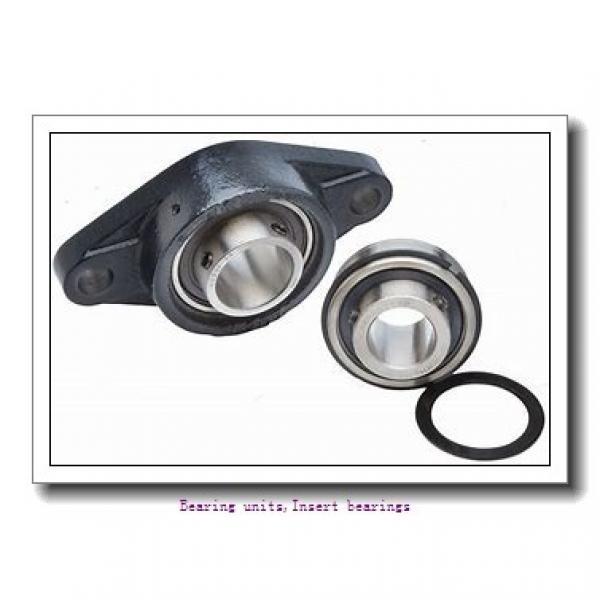 22.22 mm x 52 mm x 34.8 mm  SNR EX205-14G2 Bearing units,Insert bearings #1 image